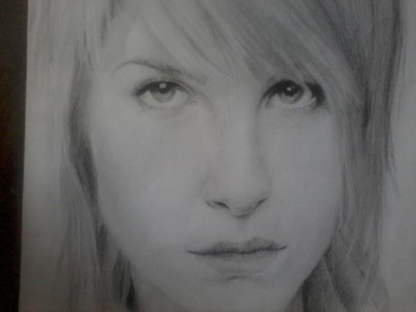 Hayley Williams by AdikSaSketching
